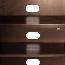 Small Component Cabinet Amazon Com Bell U0027o Atc402 Audio Video Component Cabinet Dark
