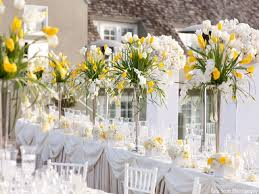 table top flower arrangements flowers happy day white yellow tabletop weddings flowers special