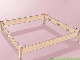 how to build a wooden bed frame na ryby info