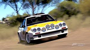 opel race car forza horizon 3 cars