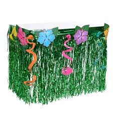 halloween city hawaiian gardens amazon com table skirts home u0026 kitchen