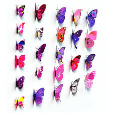 1 x 3d butterfly wall stick wall decals wallstickers onlinetrades4u 1 x 3d butterfly wall stick wall decals wallstickers
