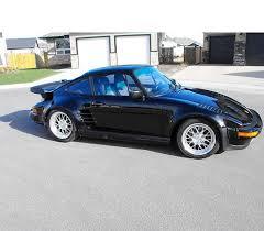1987 porsche 911 slant nose porsche 911 turbo slantnose with an history