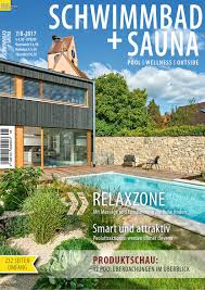 G Stige K Hen Mit Aufbau Schwimmbad Sauna 7 8 2017 By Fachschriften Verlag Issuu