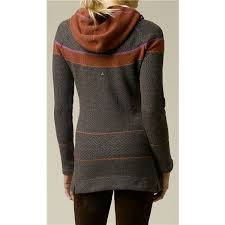 womens tunic sweaters prana caitlyn tunic sweater hooded wool blend for