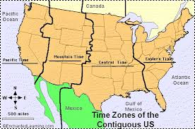 usa time zone map est time zone map us map of usa states