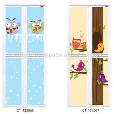 Designer Door Cartoon Serie Bifold Door Aluminium Bi Fold Door Designer Door