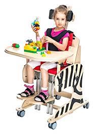 chaise handicap chaise de repositionnement pour des enfants à handicap zebra taille