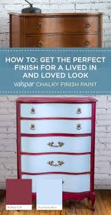 breathe new life into inexpensive furniture with valspar chalky