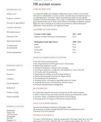 Hr Assistant Resume Download Entry Level Human Resources Resume Haadyaooverbayresort Com