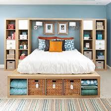 Closet Bed Frame Copy This Bedroom S 25 Creative Storage Ideas Master Bedroom