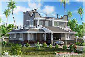 contemporary style 3 bedroom home plan kerala home design and