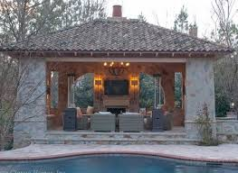 58 best poolside shelter and fireplace images on pinterest pool