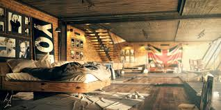 industrial bedrooms bedroom cool bedroom decor for refreshing new ambience