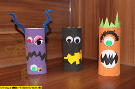 Halloween Monsters For Kids by Cute Halloween Monster Recycling Craft For Kids Recycling Basteln