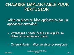 chambre implantable pour perfusion p essel infirmier anesthésiste sau smur cesu ch dole 39