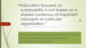 Csudh Map Assessing Student Learning Outcomes For Sustainability Curriculum