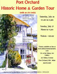 port orchard historic home and garden tour with an art twist news