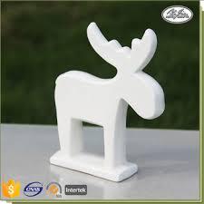 ceramic decoration deer shape wholesale ornament