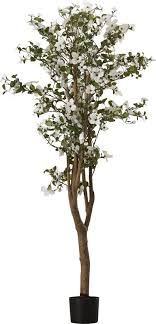 silk dogwood tree in pot reviews allmodern