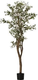 silk dogwood tree in pot reviews allmodern