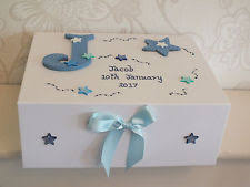 personalized keepsake boxes baby memory box ebay