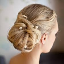 bridal hair bun hairstyles for wedding bridesmaids the side bun gallery of