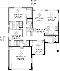 contemporary style house plan 3 beds 2 00 baths 1588 sq ft plan