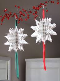 paper christmas decorations sheet christmas tree ornaments crafty nest