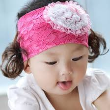 baby hair bands gzmm lace flowers girl s accessories baby hair bands