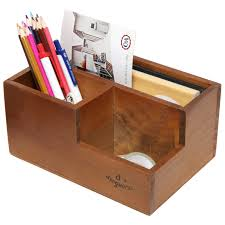 Leather Desk Organizer by Desktop Organizers Mygift