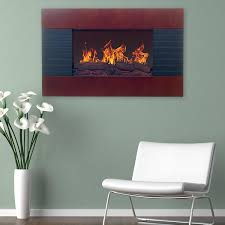 northwest 80 ef422s electric fireplace with wall mount and remote