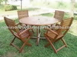 patio table lazy susan wooden garden furniture sunny set with lazy susan buy garden