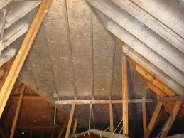 radiant barrier application helps keep attics cool