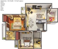1050 sq ft 2 bhk 2t apartment for sale in gaursons 5th avenue