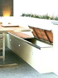 meuble cuisine exterieure cuisine exterieure moderne cuisine exterieure pas cher banc coffre