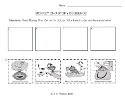 sequencing worksheets first grade free worksheets library
