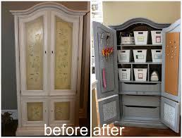 Living Room Armoire 25 Craft Armoire Decor Hacks