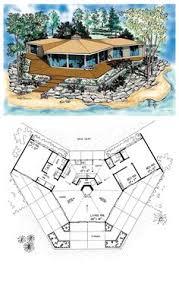 hexagon house plans willian son g buscar con google planos