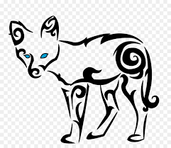 drawing celtic knot clip cool tribal fox designs to draw png