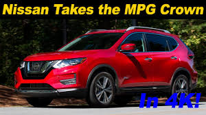 nissan rogue mpg 2017 2017 nissan rogue hybrid first drive review and road test in 4k