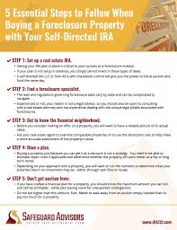 5 tips for buying foreclosed property with your self directed ira
