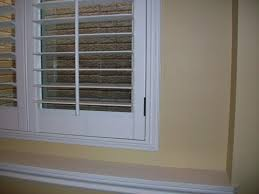 Shutter Up Blinds And Shutters Plantation Shutter Installation In Casement Windows Kirtz
