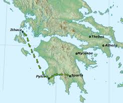 Ithaca Map File Telemachus Map Jpg Wikimedia Commons