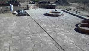 Decorative Concrete Patio Contractor Concrete Contractor Granite Bay Paving Stamping