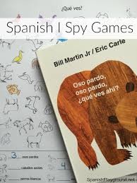 spy games brown bear brown bear spanish playground