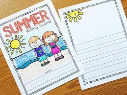 writing journal paper free summer journal simply kinder free summer journal
