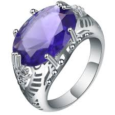 amethyst engagement ring custom by online get cheap custom engagement ring designs aliexpress com
