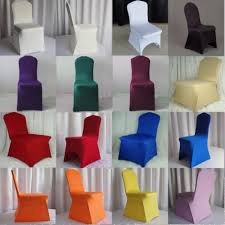 2015 sale chair covers polyester spandex wedding chair covers