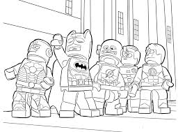 coloring pages lego heroes coloring page for boys printable free